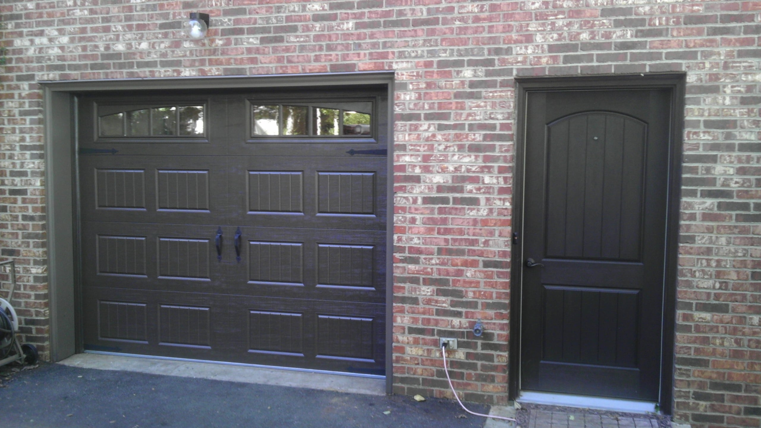 beaumont garage traditional or over up door new doors the panel replacement steel repairs gallery workshop